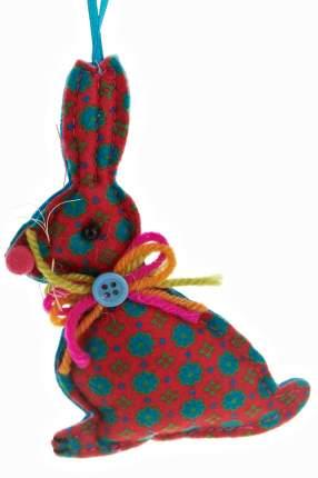 Елочная игрушка Monte Christmas Зайчик N6090145 14 см 1 шт.
