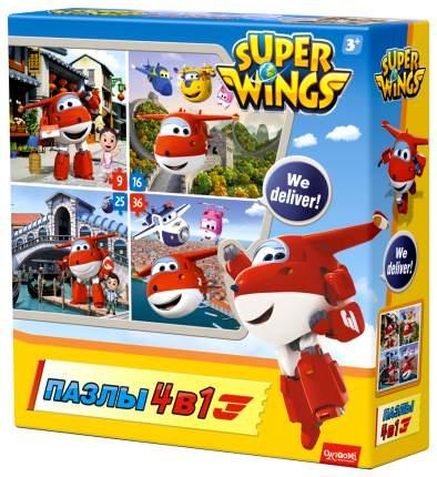 Пазлы Origami Любимые герои SuperWings Путешествуем с Джеттом 02907