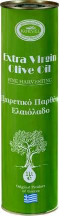 Оливковое масло Korvel экстра вирджин Греция 1 л