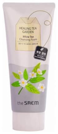 Пенка для умывания The Saem Healing Tea Garden White Tea Cleansing Foam 150 мл