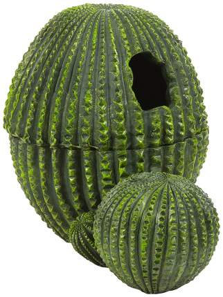 Укрытие для рептилий Penn-Plax Кактус, пластик, 15х15х18 см