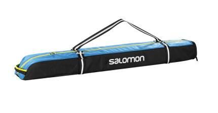 Чехол для горных лыж Salomon Extend 1P Skibag, black/process blue, 155 см