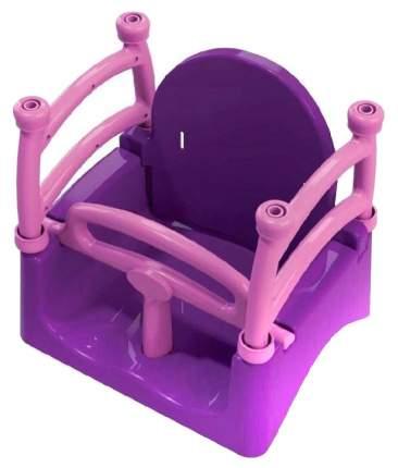 Качели детские Doloni фиолетовые/розовые