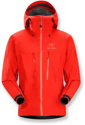 Спортивная куртка мужская Arcteryx Alpha SV, cardinal, L