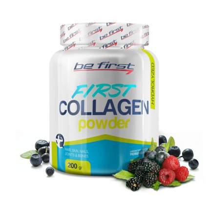 Коллаген Be First First Collagen в порошке 200 г, лесные ягоды