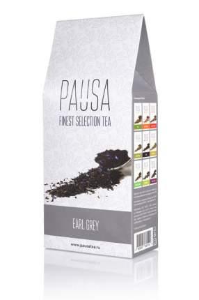 Чай Pausa черный с бергамотом и васильком 90 г