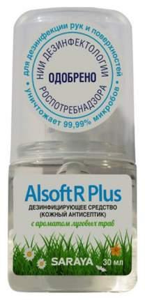 Дезинфецирующее средство для рук Saraya Alsoft R Plus 30 мл
