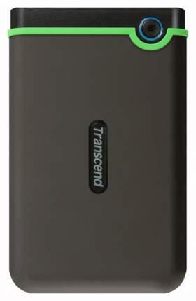 Внешний SSD накопитель Transcend StoreJet 2TB Green/ Black (TS2TSJ25MC)