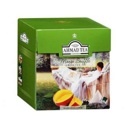 Чай зеленый Ahmad Tea манговое суфле 20 пакетиков