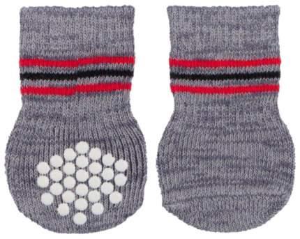 Носки для собак TRIXIE размер XL, 2 шт серый