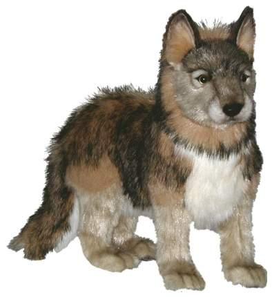 Мягкая игрушка Hansa Серый волчонок, стоящий, 44 см