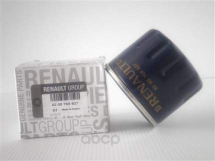 Фильтр масляный RENAULT 8200768927