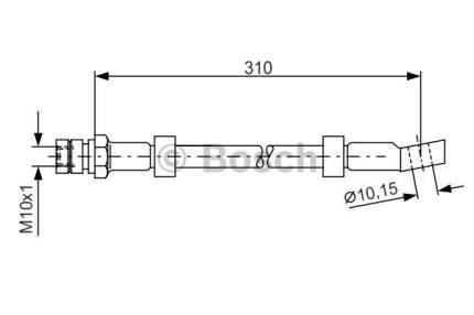 Шланг тормозной системы Bosch 1 987 476 464
