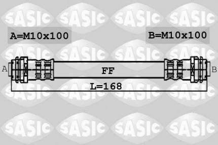 Шланг тормозной системы SASIC 6606010