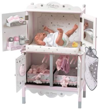 Деревянный игровой центр для куклы DeCuevas с аксессуарами серия Скай