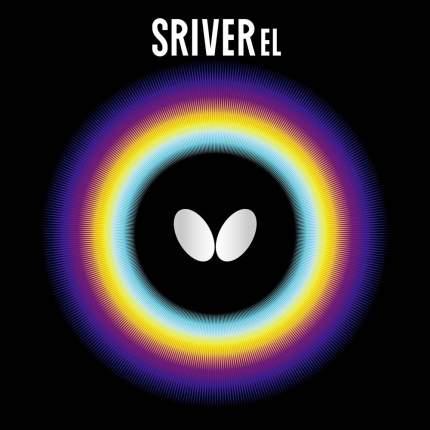 Накладка для ракетки Butterfly Sriver EL черная max