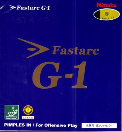 Накладка для ракетки Nittaku Fastarc G-1 черная 2.0