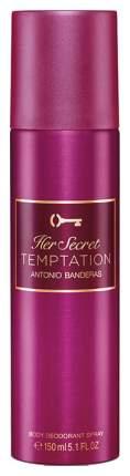 Дезодорант Antonio Banderas Her Secret Temptation