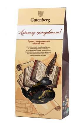 Чай черный Gutenberg ароматизированный дюбимому преподавателю 100 г