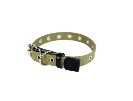 Ошейник для собак ГеоГазТехнология брезент на синтепоне, 50см
