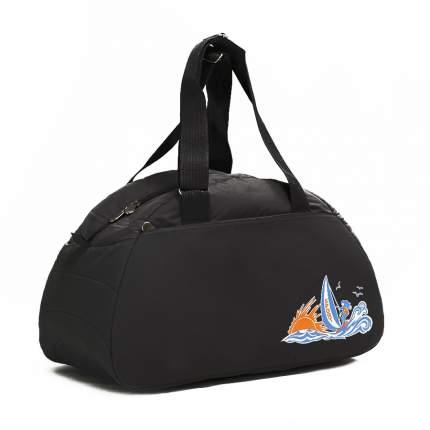 Спортивная сумка Polar 6020с черная