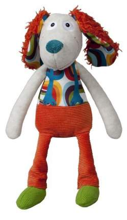 Мягкая игрушка Ebulobo Пёсик Тони с погремушкой внутри