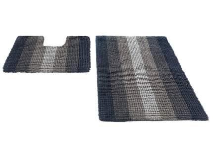 Набор ковриков для ванной MULTIMAKARON бежевый, SHAHINTEX
