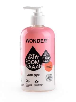 Гель для мытья рук Wonderlab Bathroom Waaave бергамот и мандарин, 0.5 л
