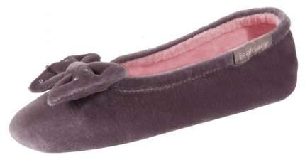 Тапочки ISOTONER коричневый Taure р.27-28