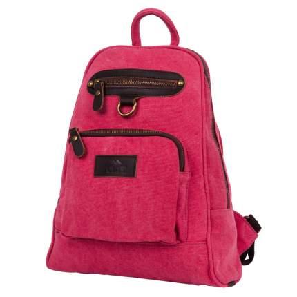 Рюкзак женский кожаный Polar П8001б 8,5 л красный