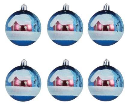 Набор елочных шаров Snowmen Е50633