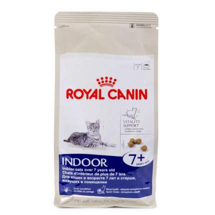 Сухой корм для кошек ROYAL CANIN Home Life Indoor 7+, для домашних старше 7 лет, 0,4кг