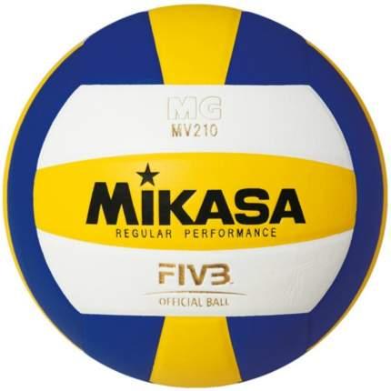 Волейбольный мяч Mikasa MV210 синий/белый/желтый