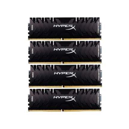 Оперативная память HyperX Predator HX424C12PB3K4/32  (Kit of 4)