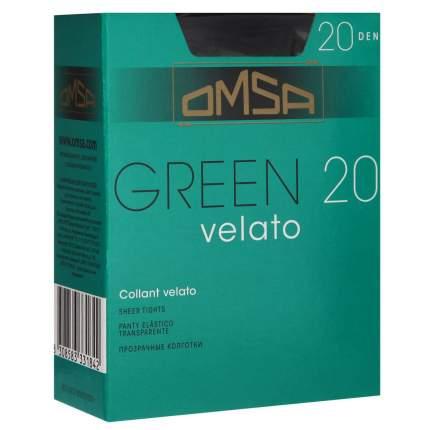 Колготки Omsa GREEN 20 /  Nero  (Черный) / 3 (M)