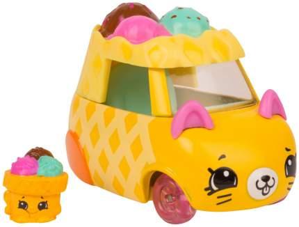 Машинка пластиковая Cutie Cars 56736/ast57100 Moto Gelato с фигуркой Shopkins, 3 сезон