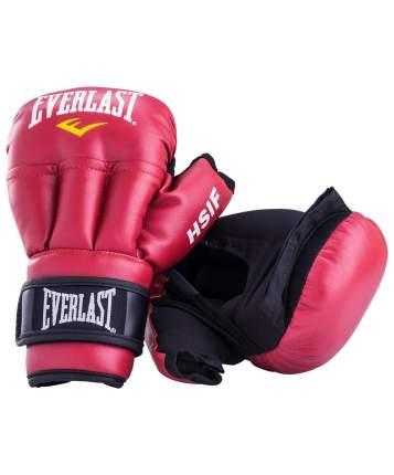 Перчатки для рукопашного боя Everlast HSIF RF3112, 12oz, к/з, красный