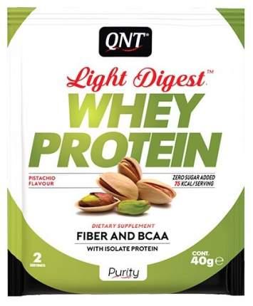 Протеин QNT Whey Protein Light Digest 40 г Pistachio