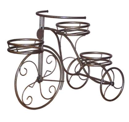 Подставка для цветов Велосипед-3
