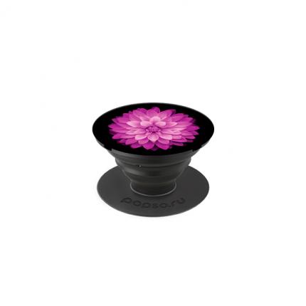 Держатель для телефона POPSO Цветок в ночи Purple