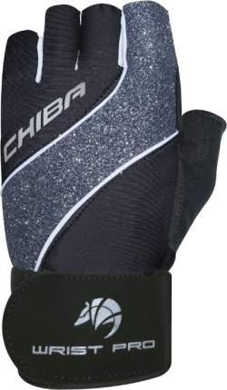 Перчатки для фитнеса Chiba Lady Line Starlight, черные, M