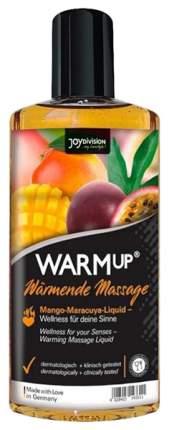 Массажное масло Joy Division Warm Up с ароматом манго и маракуйи разогревающее 150 мл