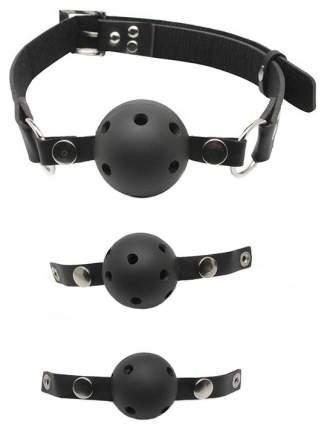 Система кляпов из 3 шариков Pipedream Ball Gag Training System