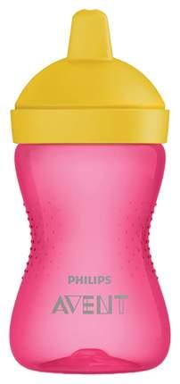 Чашка-непроливайка с твердым носиком Philips Avent 300 мл Розовый