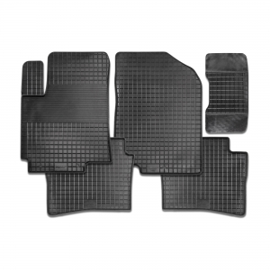 Резиновые коврики SEINTEX Сетка для Volkswagen Polo Sedan 2010-2015 / 83397