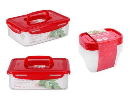 Набор пластиковых контейнеров CP55832003/RD