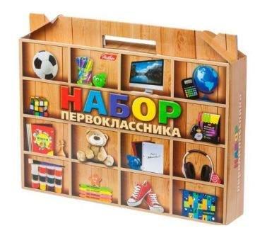 """Набор для первоклассника в подарочной упаковке HATBER, Нп4 17565, N265321 """"Универсальный"""""""