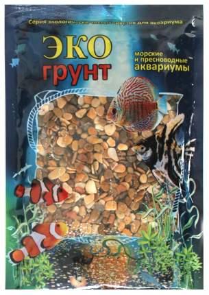 Грунт для аквариума ЭКОгрунт Галька Каспий №2 5 - 10 мм 1 кг
