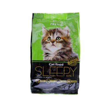 Сухой корм для котят Premil Cat food SLEEPY, курица, 0,4кг