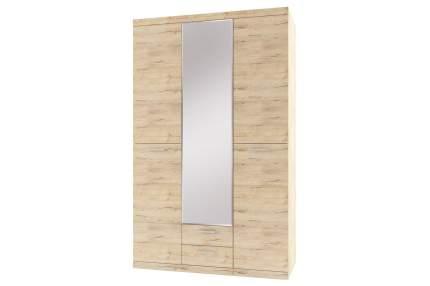 Платяной шкаф Hoff 80272975 135х57,6х217,3, дуб санремо